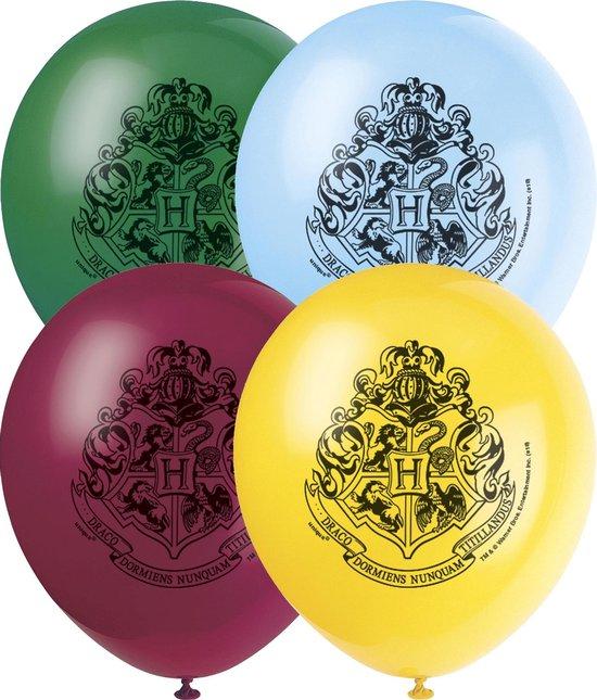 UNIQUE - 8 latex Harry Potter ballonnen - Decoratie > Ballonnen