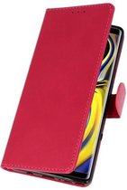 Wicked Narwal | bookstyle / book case/ wallet case Wallet Cases Hoes voor Samsung Galaxy Note 9 Roze