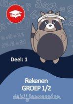 Oefenboeken De Bijlesmeester  -  Rekenen deel 1 groep 1-2