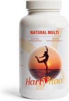 HartVitaal - Natuurlijke Multi - Een uniek multivitamine-supplement, vol met écht natuurlijke vitamines - 90 caps