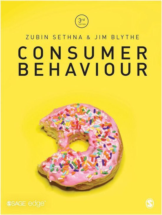 Boek cover Consumer Behaviour van Zubin Sethna (Onbekend)
