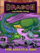 Dragon Coloring Book for Adults and Kids