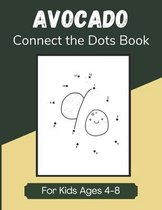 Avocado Connect the Dots Book for Kids Ages 4-8