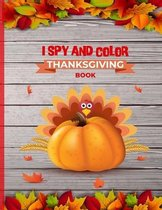 I Spy And Color Thanksgiving Book