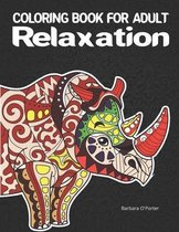 Coloring book for adult: Relaxation
