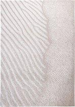 Louis de Poortere - 9135 Waves Shores Amazon Mud Vloerkleed - 170x240 cm - Rechthoekig - Laagpolig Tapijt - Landelijk, Modern - Beige