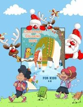 Christmas Coloring Book for Kids 4-8