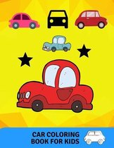 Car coloring book for kids