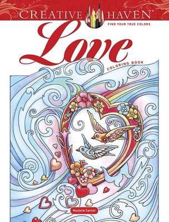 Creative Haven Love Coloring Book