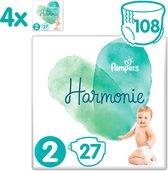 Pampers Harmonie / Pure Maat 2 (4-8 kg) 108 luiers