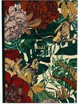 Botanic agenda 2021 - 21 x 14.8 cm -  week - lannoo - matte harde kaft - formaat A5