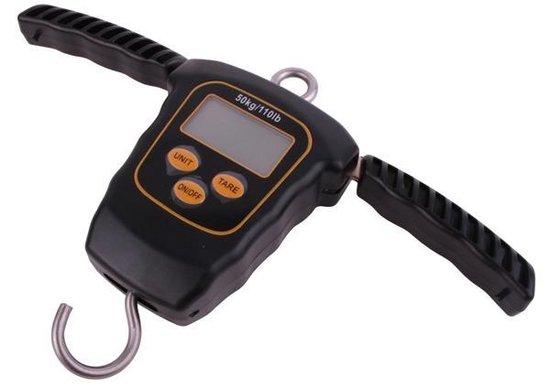 Ultimate Deluxe Digital Scale - Tot 50kg - incl. Thermometer en Meetlint - Vis Weegschaal