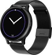 Luxury Watch - Smartwatch Zwart - Stappenteller - Hartslagmeter -...