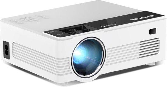 """Magnify™ C520 150"""" LCD Projector - Compacte Mini Beamer - Verbeterd Model - Ingebouwde Speakers - Automatische Scheefstand Correctie - Ideaal Voor Videoland Vanuit Bed"""