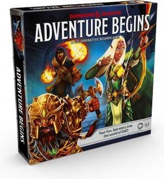 Afbeelding van het spel Dungeons & Dragons The Adventure Begins (EN)