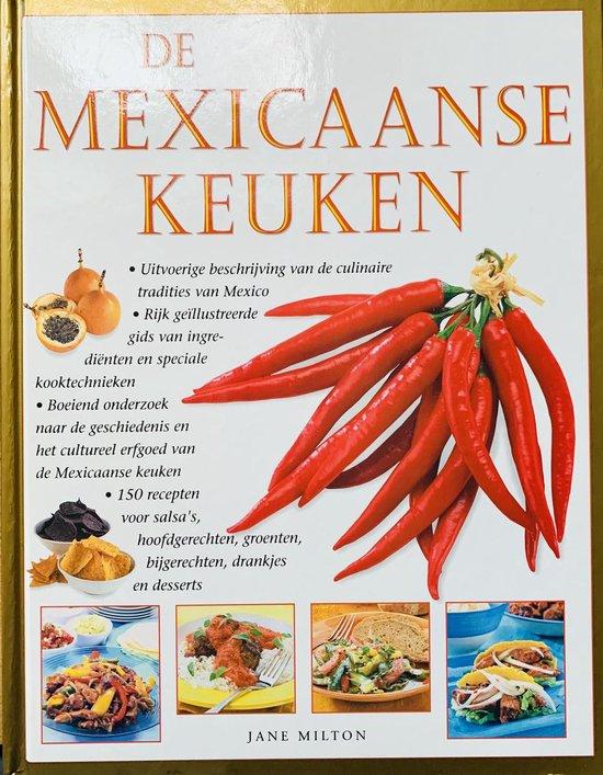 Cover van het boek 'De Mexicaanse keuken'