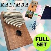 ✅Kalimba Set ATV PERFECTUM 2020 - Duimpiano - 17 tonen - Mahonie - Afrikaans Sapele - Afrikaans Muziekinstrument - kalimba 17 tonen – Muziekinstrument – Kalimba 17