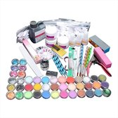 Highquality Acrylnagels Starterspakket - 128 delig - nail art - acryl poeders