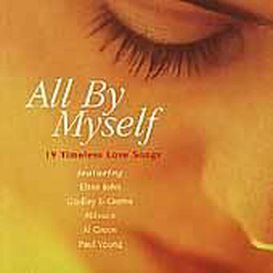 CD cover van All by Myself [Crimson] van various artists