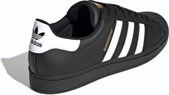 adidas Superstar Heren Sneakers - Core Black/Ftwr White/Core Black - Maat 42 2/3