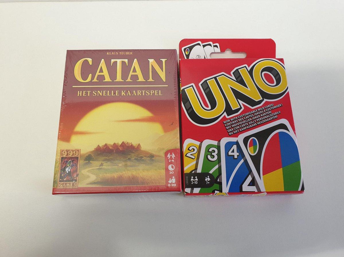 Uno + Catan het snelle kaartspel pakket