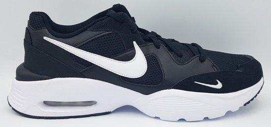 Nike air max fusion black/white maat 47.5