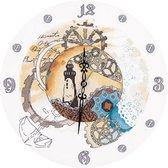 Clockwork Time Evenweave Panna Klok Borduurpakket CH-1939