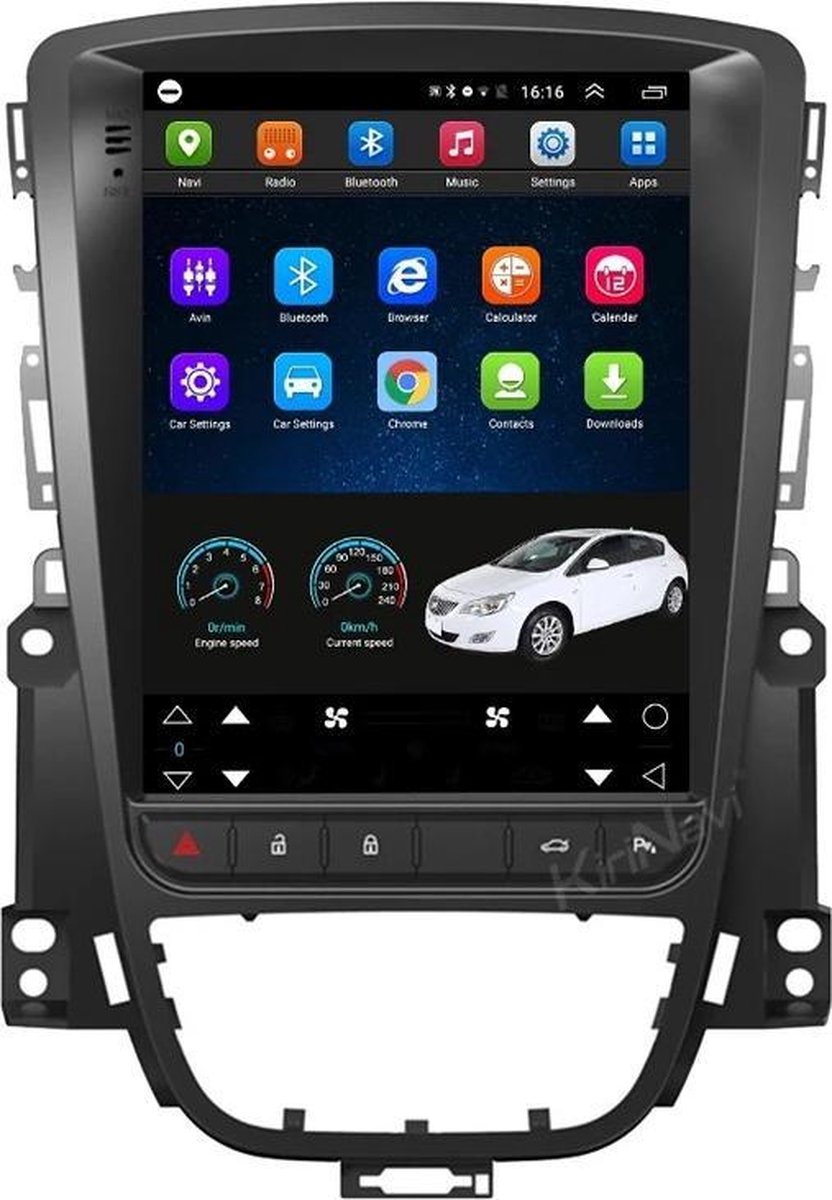 Opel Astra J 2010-2015 Android 9.0 Navigatie