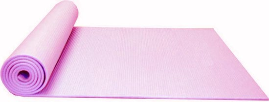 Dobeno Yoga Mat - Stretch - Sport Mat Roze met Opbergkoord