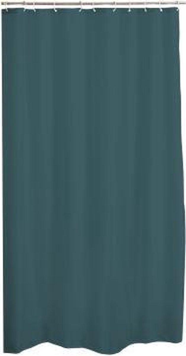 Zethome Douchegordijn Shower Curtain 180x200 Inclusief Ringen Peva Groen Blauw Bol Com