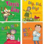 Learn to Read at Home with Phonics Bug: Pack 1 (Pack of 4 fiction books)