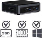 Intel NUC Mini PC | Intel Core i5 / 10210U | 8 GB DDR4 | 240 GB SSD | HDMI | USB-C | Windows 10 Pro