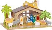 Mentari Kerststal met Onderplaat