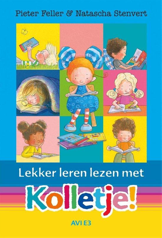 Boek cover Lekker leren lezen met Kolletje! van Pieter Feller (Hardcover)