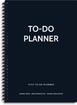 Fitly - To Do Notitieboek - To Do Lijst - To Do List - To Do Planner - To Do Boekje - Daily Planner