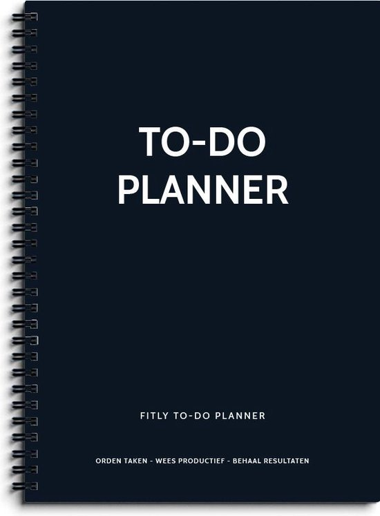 Afbeelding van Fitly - To Do Notitieboek - To Do Lijst - To Do List - To Do Planner - To Do Boekje - Daily Planner
