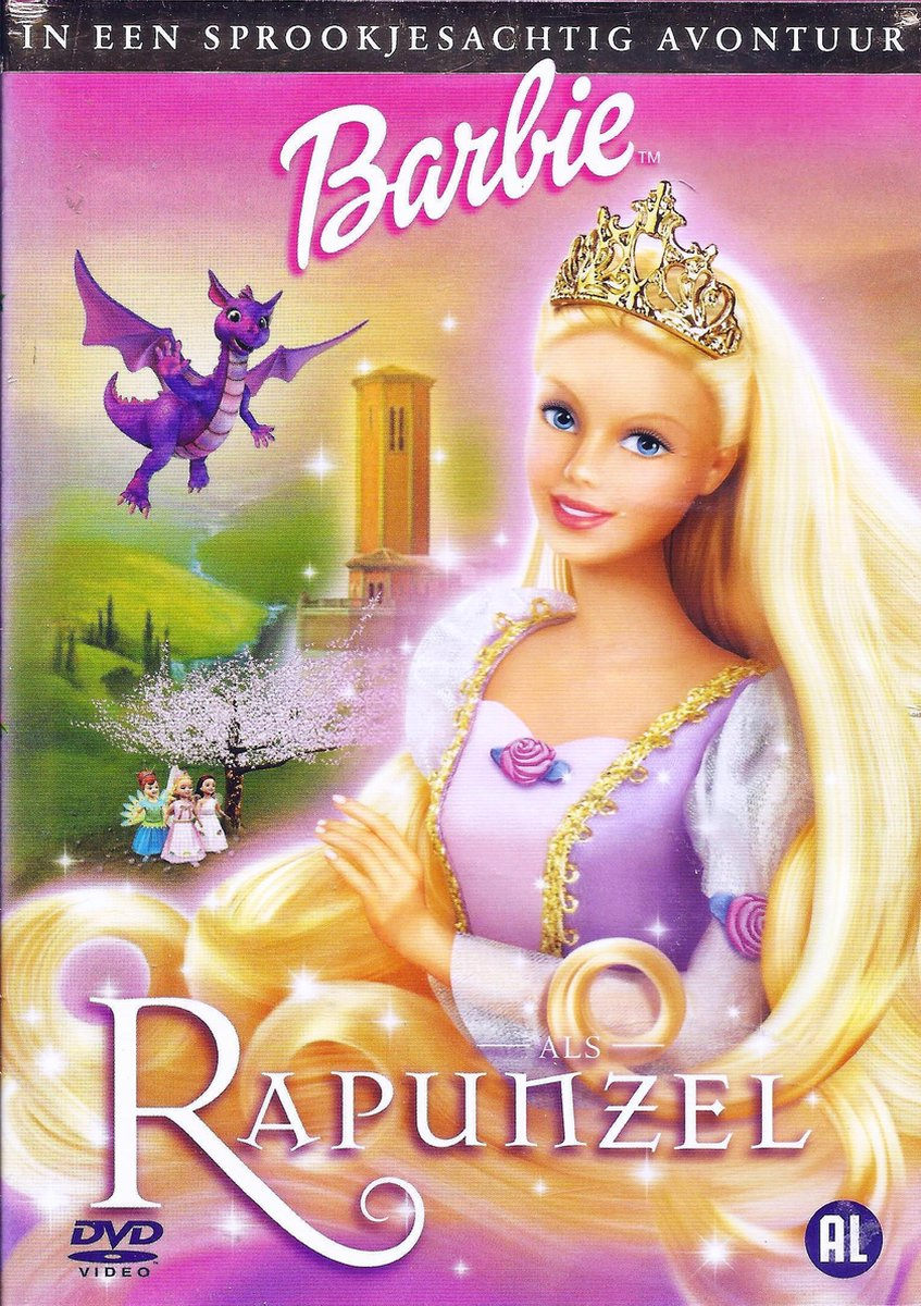 Barbie - Rapunzel - Animation