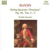 Kodaly-Quartett - Haydn:string Quar.Op.50,No.1-3