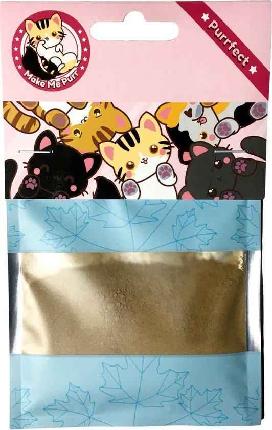make me purr valeriaan poeder (25 gram) - kattenkruid kattensnack kattensnoepje - matatabi / catnip effect