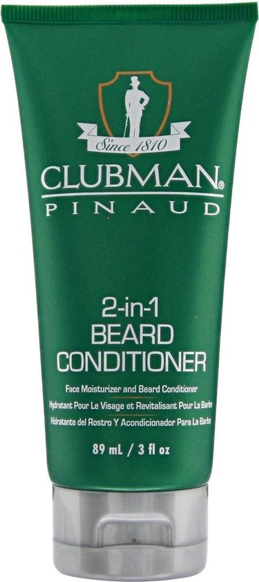 Clubman Pinaud - 2-in-1 Beard conditioner & Face moisturizer - 89ml