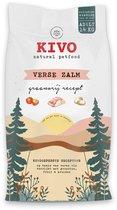 Kivo Petfood graanvrije hondenbrokken - Verse Zalm - 14 kg - met verse vis, groenten, fruit & kruiden!