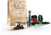 Barista Life Basisset met twee cups - Hervulbare Nespresso capsule - Koffie capsule - Nespresso cup - RVS