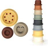 Joyage Stapel Cups voor Motorische Ontwikkeling Kinderen - Baby Speelgoed 0 jaar - Baby Speelgoed 1 jaar jongens en meisjes - Motorische ontwikkeling speelgoed - Baby speelgoed 6 maanden - Speelgoed voor in bad
