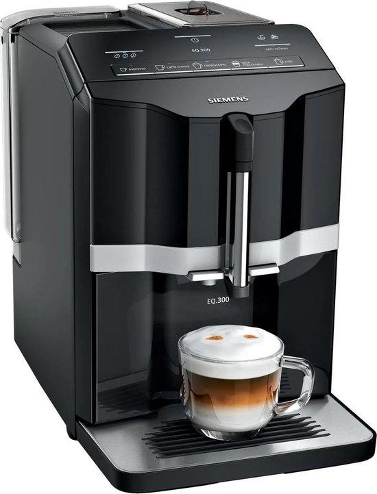 Siemens EQ300 TI351209RW - Espresso machine - Black / Silver