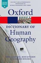 Boek cover A Dictionary of Human Geography van Alisdair Rogers