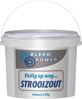 Strooizout, strooi zout 7.5 kg in Afsluitbare emme
