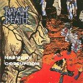 CD cover van Harmony Corruption van Napalm Death