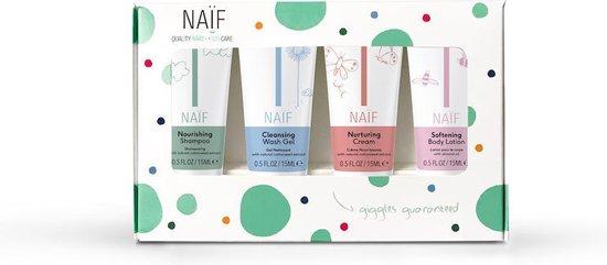 Naïf Natuurlijke miniset - 4 x 15ml in geschenkverpakking