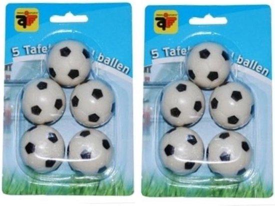 Afbeelding van het spel 10x stuks tafelvoetbal ballen van 3 cm