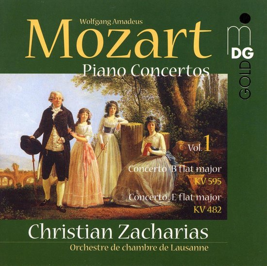 Piano Concertos Kv 482, Kv 595